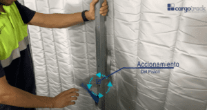 We show you how to install a Slide Therm truck thermal separator